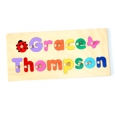 Full Name Puzzle - Short Personalised Wooden Name Puzzles