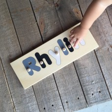 6 Letter Name Puzzle Personalised Wooden Name Puzzles