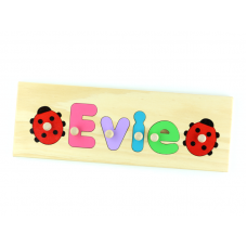 4 Letter Name Puzzle Personalised Wooden Name Puzzles