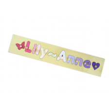 8 Letter Name Puzzle Personalised Wooden Name Puzzles