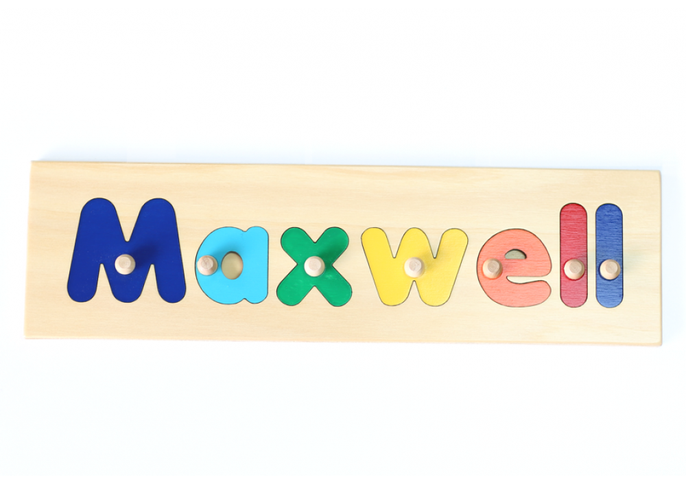 Letter Wooden Name Puzzle