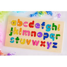 Wooden Puzzle - Alphabet Educational Puzzles