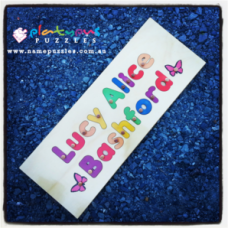 Full Name Puzzle - Long Personalised Wooden Name Puzzles