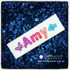 3 Letter Name Puzzle Personalised Wooden Name Puzzles